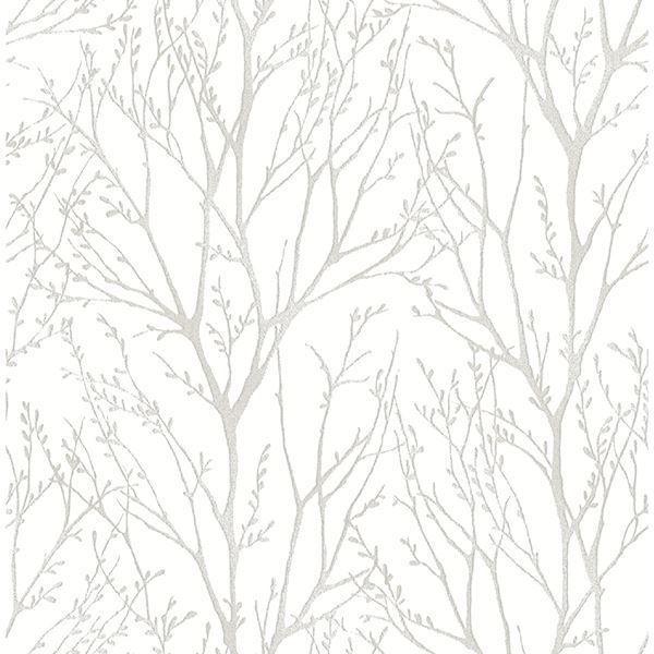 Treetops Peel Stick Wallpaper Silver Tree Wallpaper Tree Wallpaper Gold Tree Wallpaper