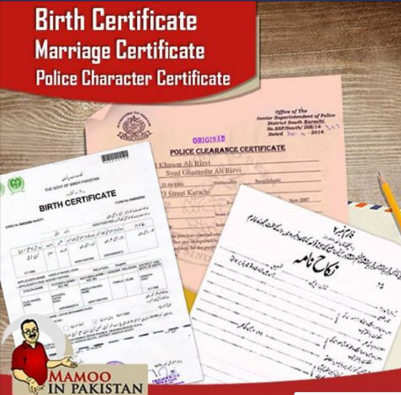 download wes, nadra birth certificate, mariage certificate, death ...