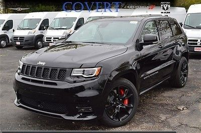 ebay 2017 jeep grand cherokee srt j09117 new jeep grand cherokee srt black suv 6 4 v8 leather. Black Bedroom Furniture Sets. Home Design Ideas