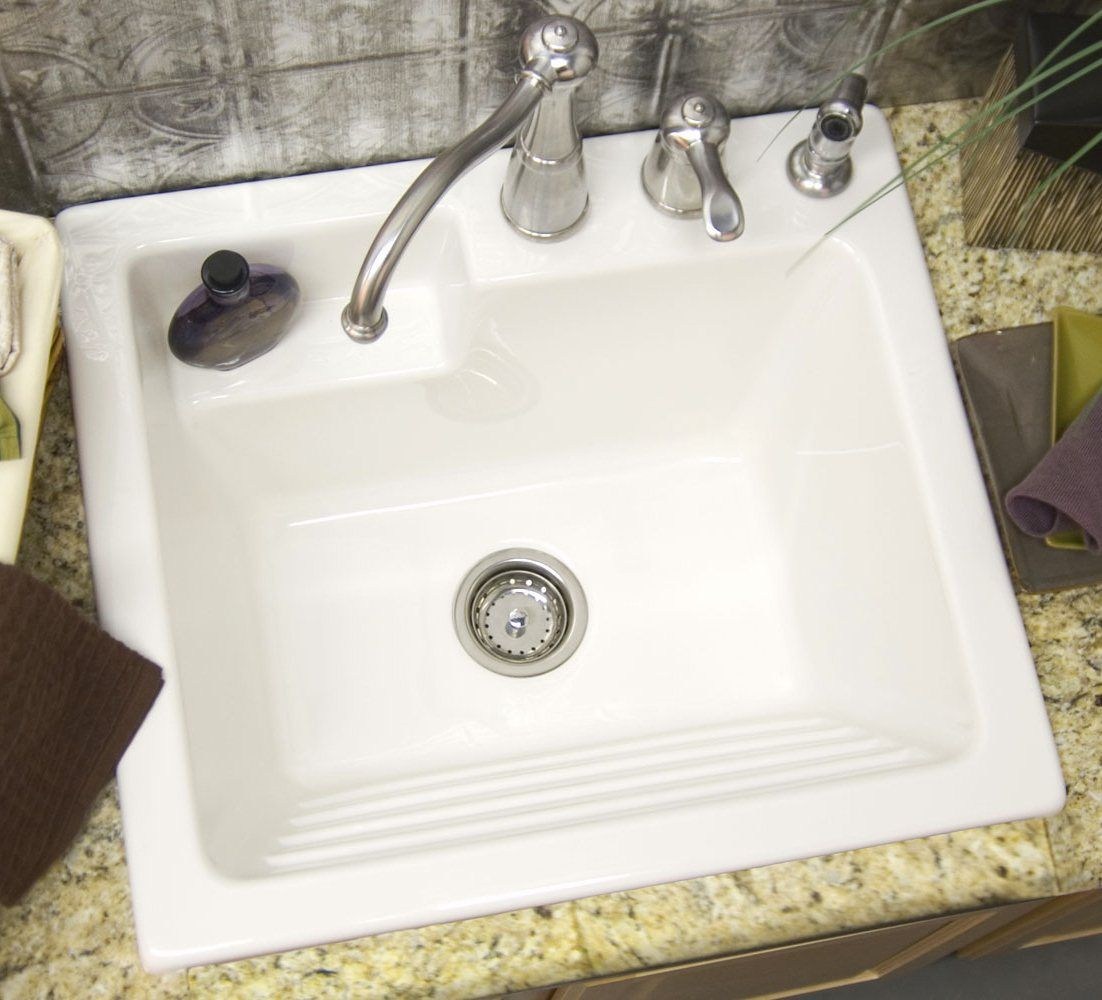 Corstone Industries Advantage Series Westerly Laundry Sink With