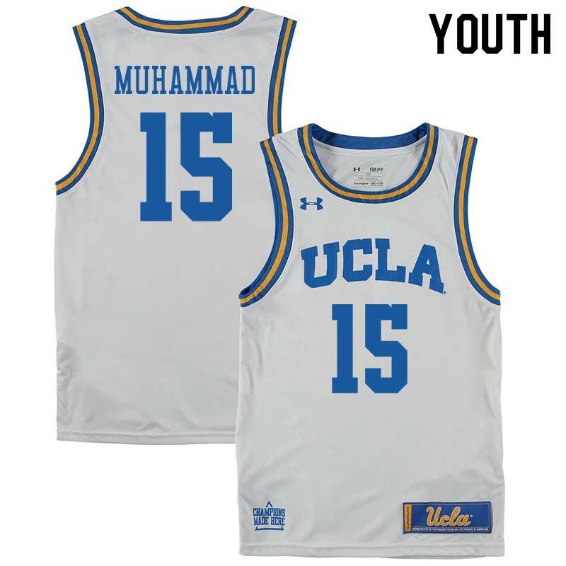 on sale 0c684 e319f Youth #15 Shabazz Muhammad UCLA Bruins College Basketball ...