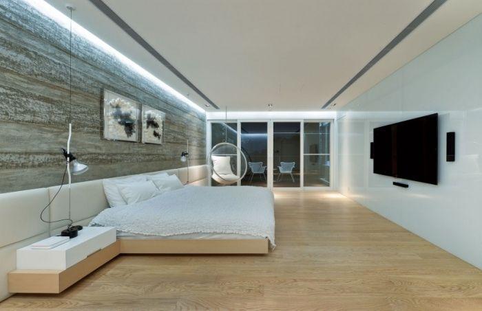 Bedroom Interior Designing Automatisch Ausschaltbare Beleuchtung Im Schlafzimmer Millimeter