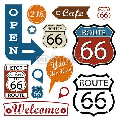 route 66 more route 66 sign route 66 decor route 66 theme. Black Bedroom Furniture Sets. Home Design Ideas