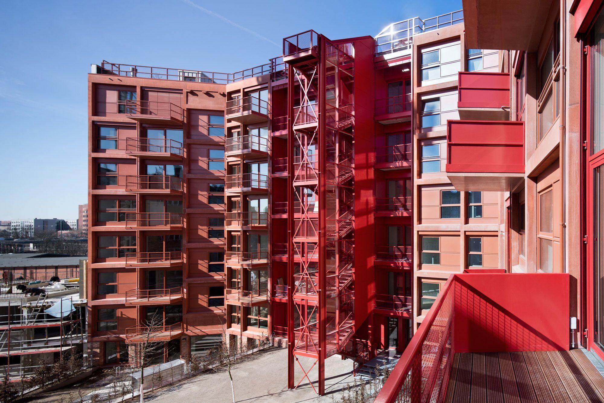 Lokdepot Berlin berlin rote lofts am gleisbett robertneun über das wohnen am