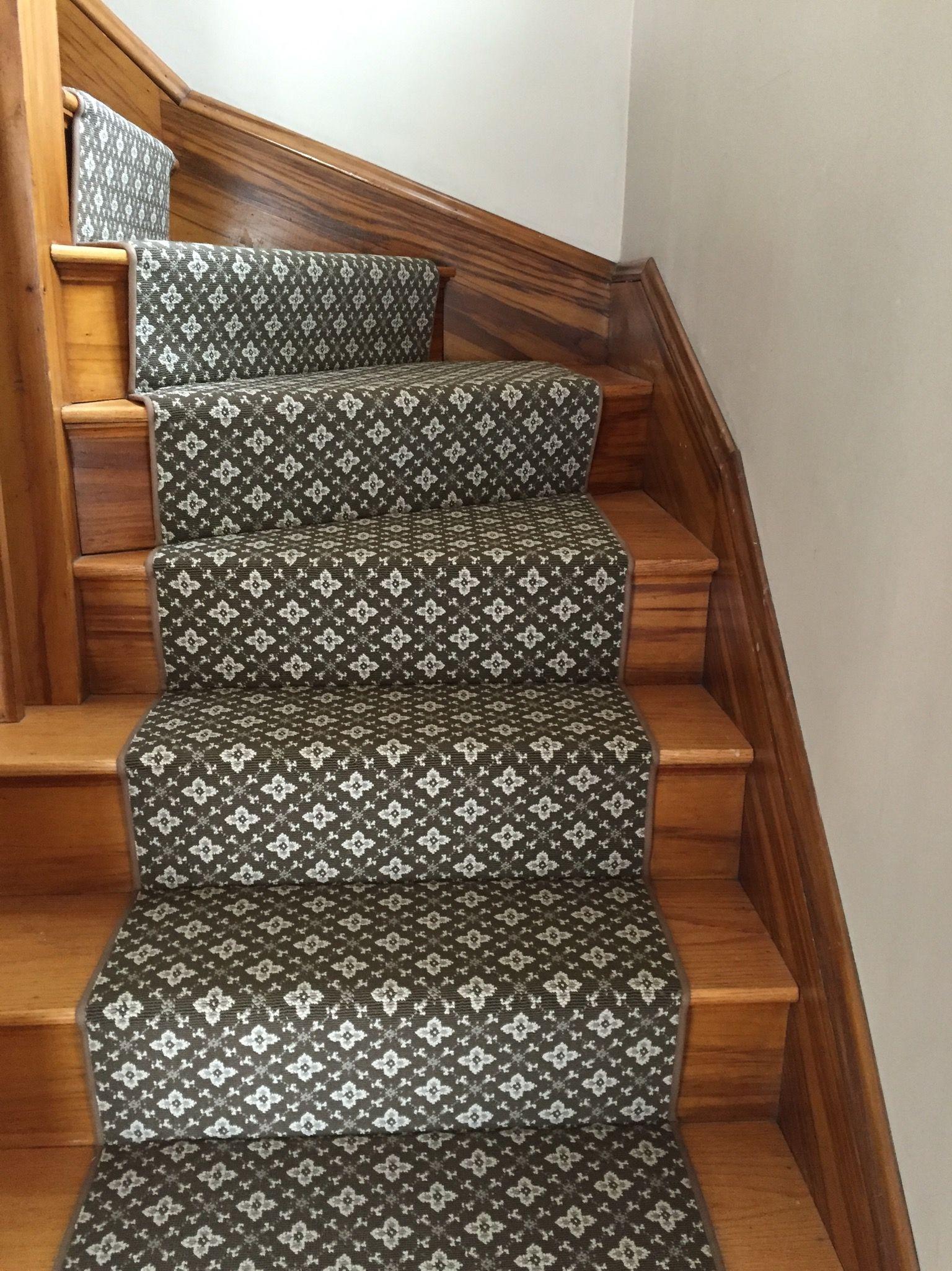 Pin By The Carpet Workroom On Stair Runners With Pie Turns Landings Stair Runner Carpet Diy Carpet Stair Runner