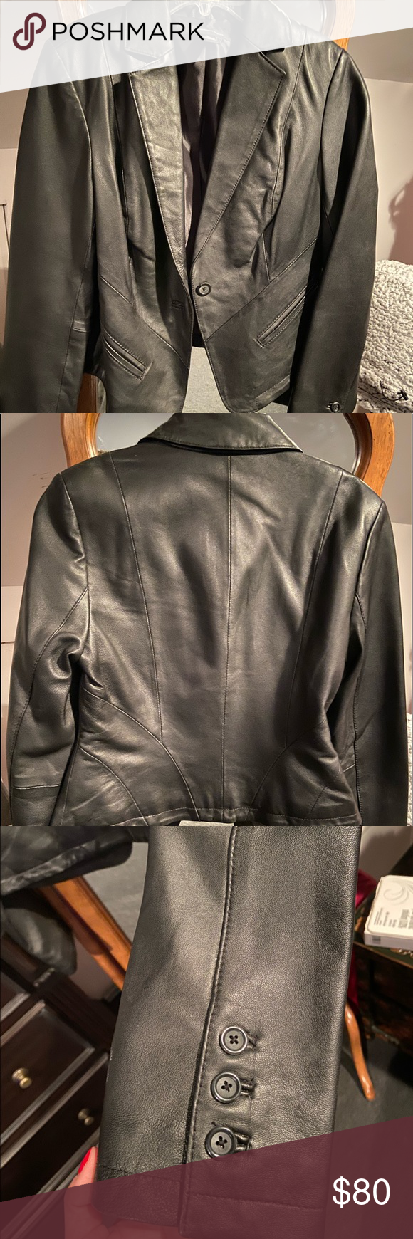 Inc International Concept Leather Jacket Small Leather Jacket Jackets Jackets For Women [ 1740 x 580 Pixel ]