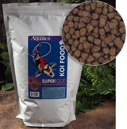 Super Food Koi Food 20 Lbs By Doctors Foster And Smith 55 99 Nutrient Rich Pellet Food For Koi Growth And Developmen Healthy Digestion Food Dog Food Recipes