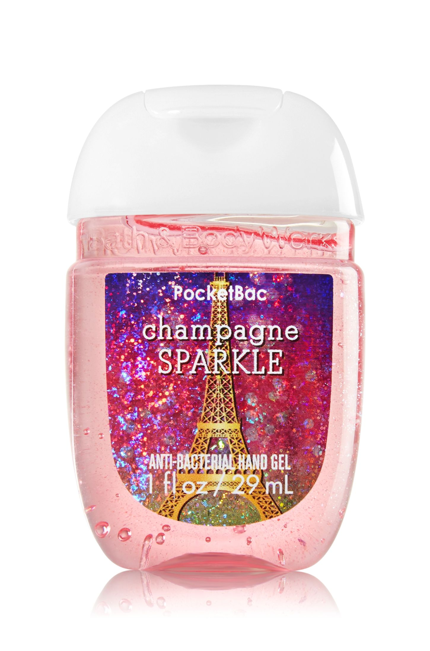 Bath Body Works Champagne Sparkle Pocketbac Sanitizing Hand Gel