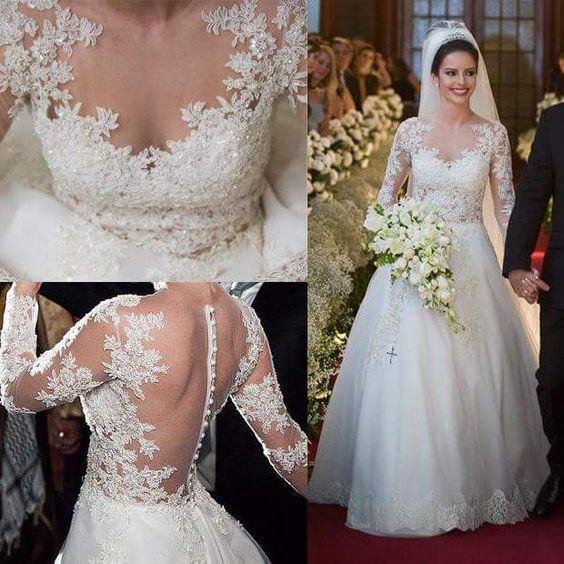 45 Flatteringly Beautiful A Line Wedding Dress That Will Woo Him Instantly