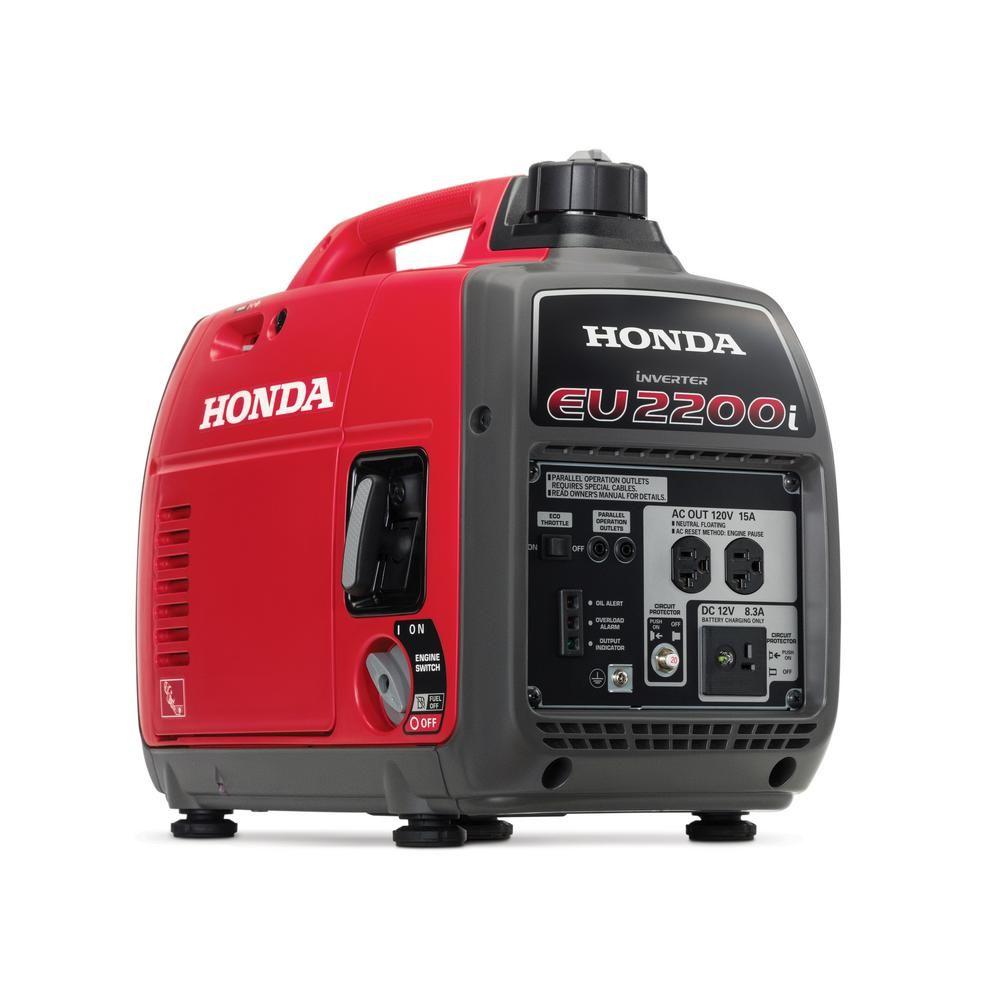 Honda 2,200Watt Super Quiet Gasoline Powered Portable