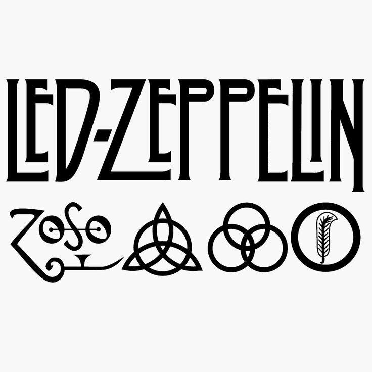 Logo Led Zeppelin All Logos World Pinterest Led Zeppelin