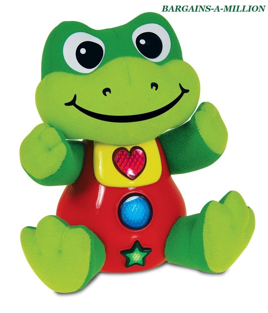 Interactive Musical Lights Smart Pal FROG Learning Toy, 3mos+ #LearningJourney