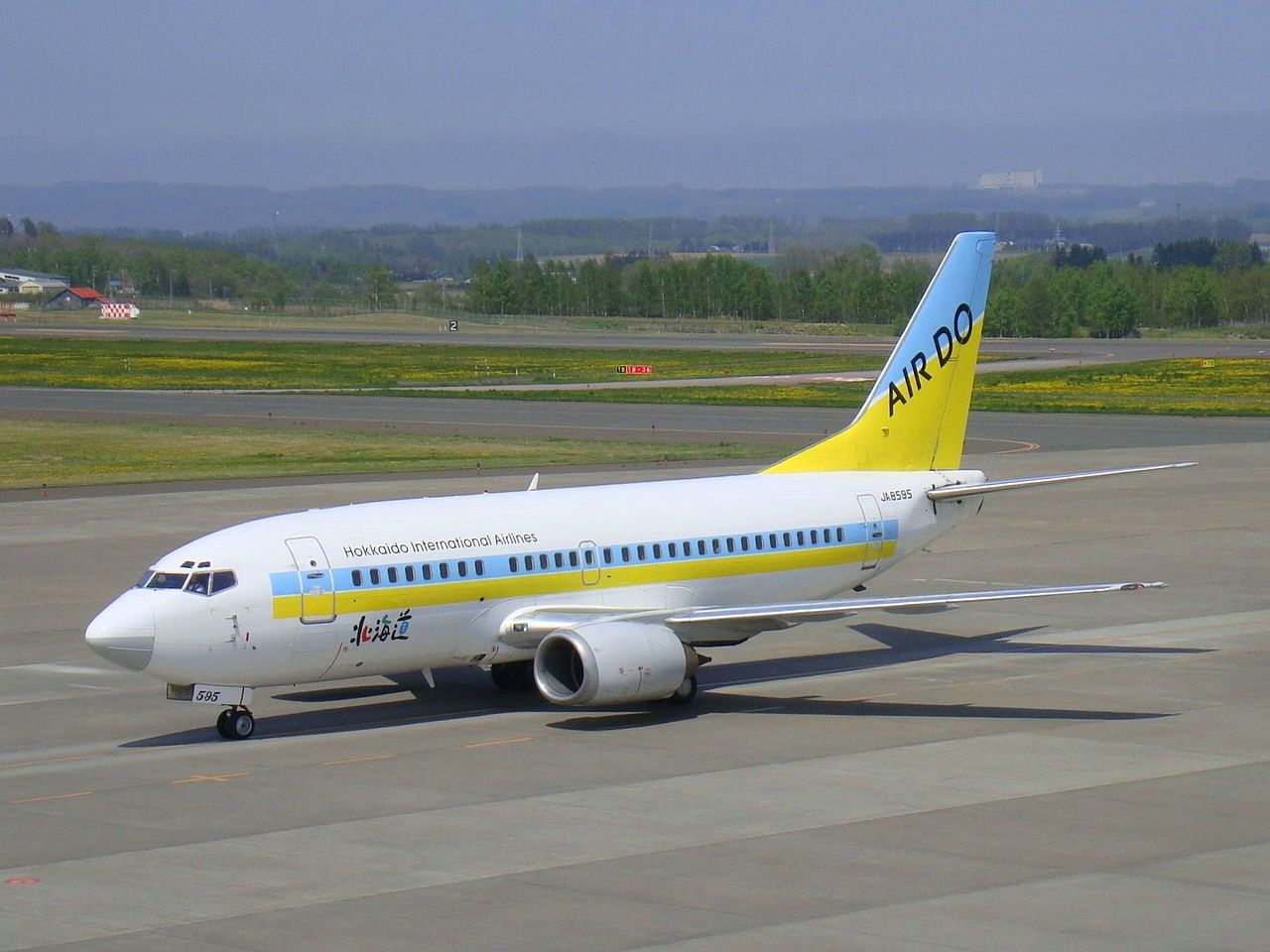 Boeing 737 500 Hokkaido International Airlines 8595 Air Do Wikipedia Boeing 737 Commercial Aircraft Commercial Aviation