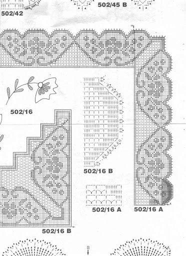 022burda E502 12345 Picasa Albums Web Crochet Casa Bico De