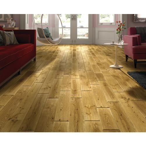 Country Oak Solid Wood Flooring Tiles