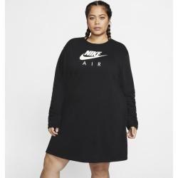 Photo of Nike Large Size – Air Fleece Dress for Women – Black Nike