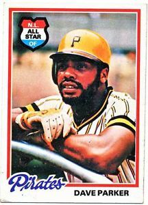 Details About 1978 Topps Dave Parker Baseball Card 560