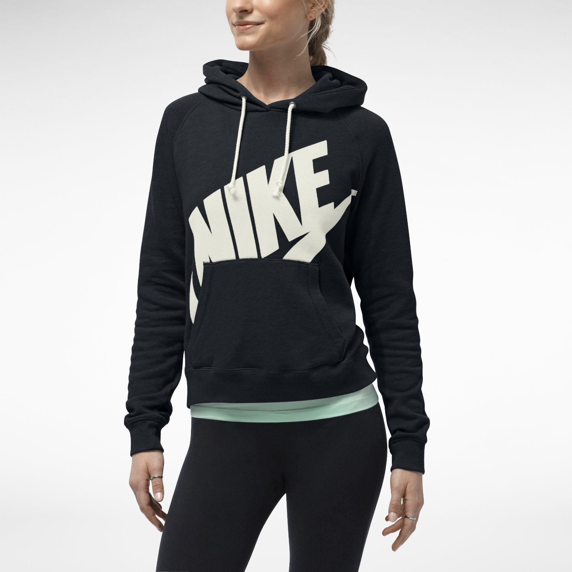 Nike Rally Futura Damen Hoodie. Nike Store Deutschland | In