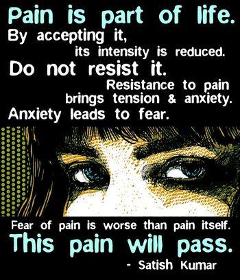 pain accept