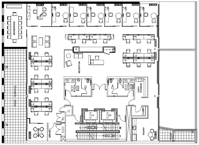 5000 sq ft office floor plan - Recherche Google