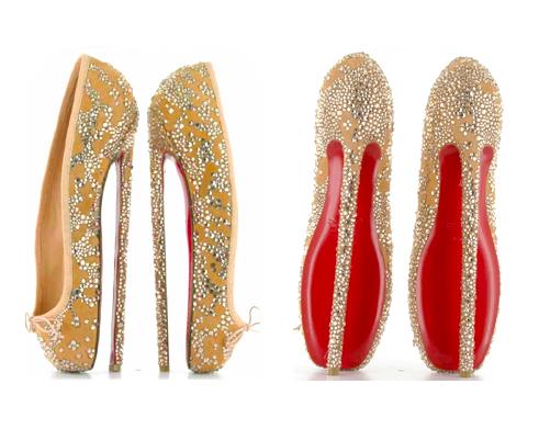 d9f98445519 20 inch (50.8 cm) Christian Louboutin heels   Christian louboutin ...
