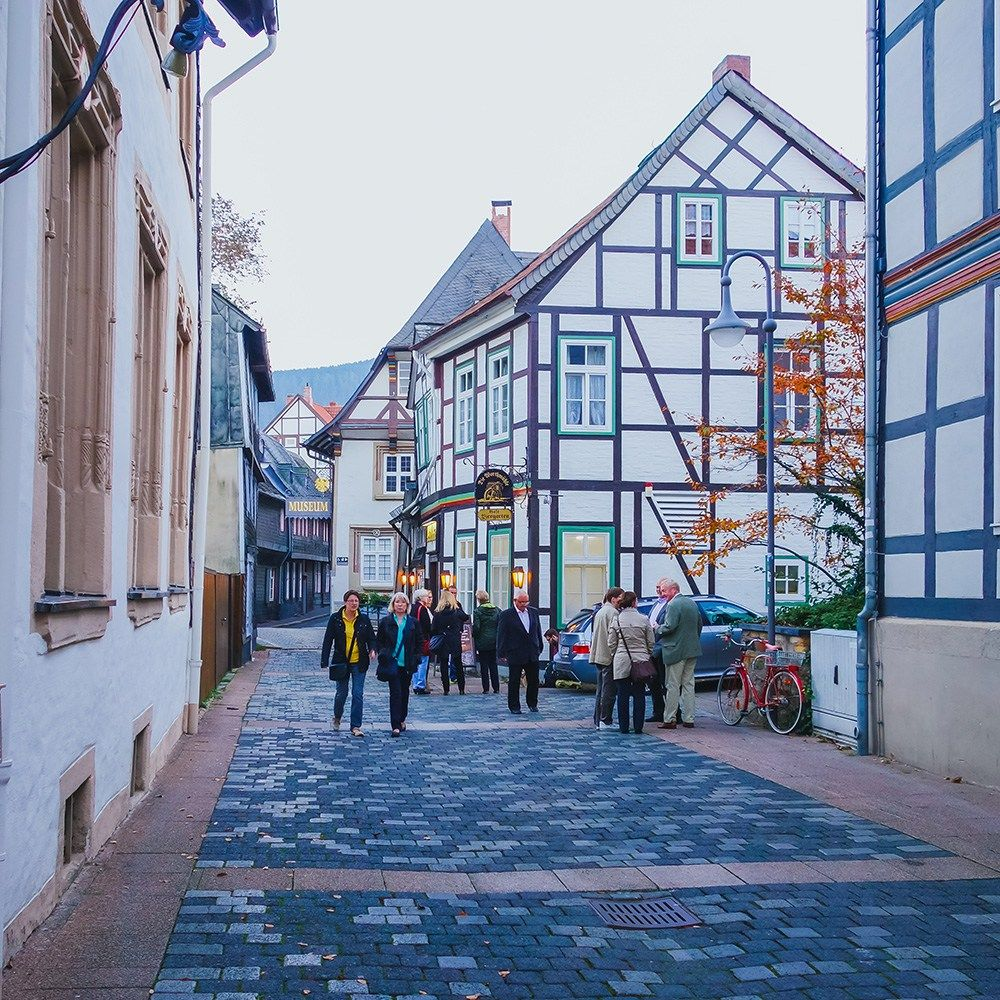 I Want To Visit Germany In German