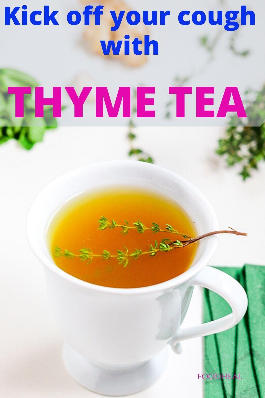 Photo of THYME TEA BENEFITS FOR TONSILLITIS.