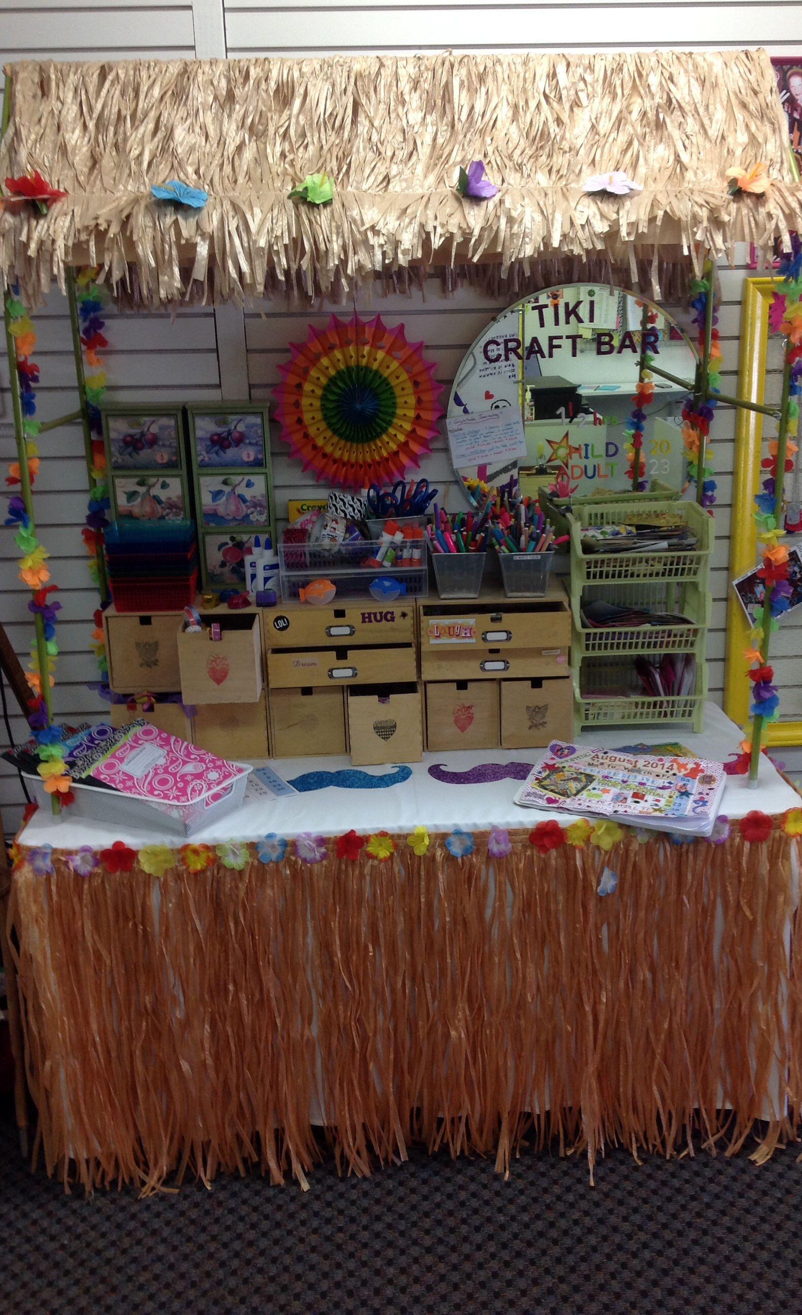 our new tiki craft bar tiki craft bar pinterest school