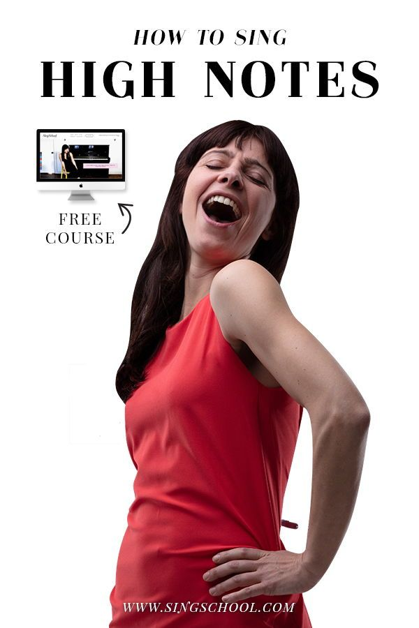 Tips on Singing High Notes - Free online singing lessons! #howtosing