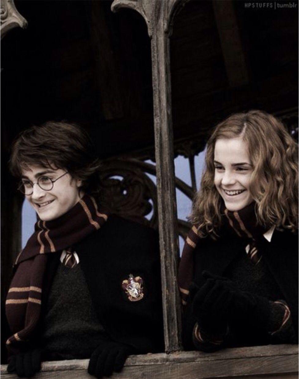 Harry Potter et Hermione Granger <3