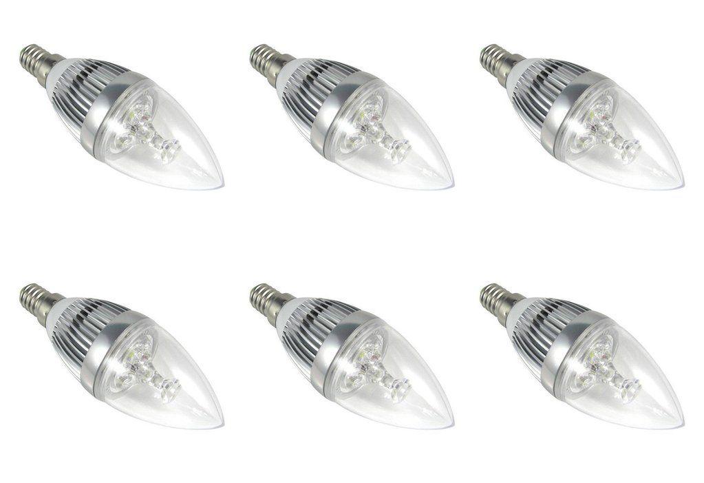 6 Pack 120v 240v Candle Tear Drop Led Light Bulb E14 3 Watt Bright Ses Chandelier With Images Led Light Bulb Light Bulb Candle Chandelier