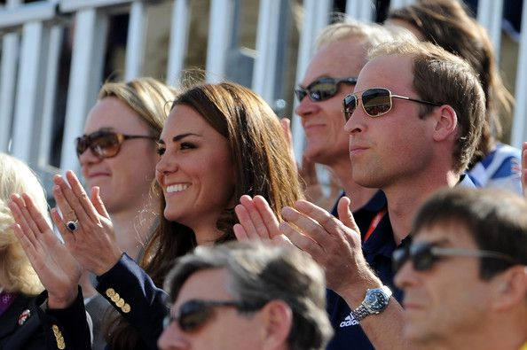 Prince William in Olympics Day 3 - Equestrian