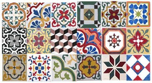 Azulejos Hidráulicos Adesivos Pesquisa Google Motif Pinterest - Portugiesische fliesen azulejos