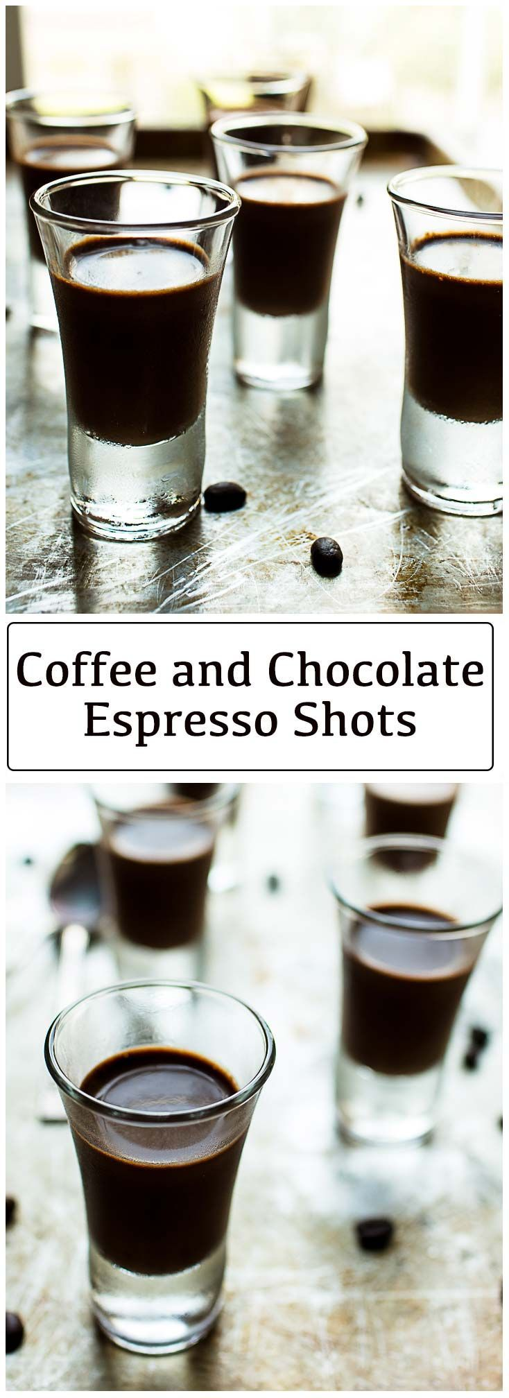 Easy chocolate coffee dessert shots recipe chocolate