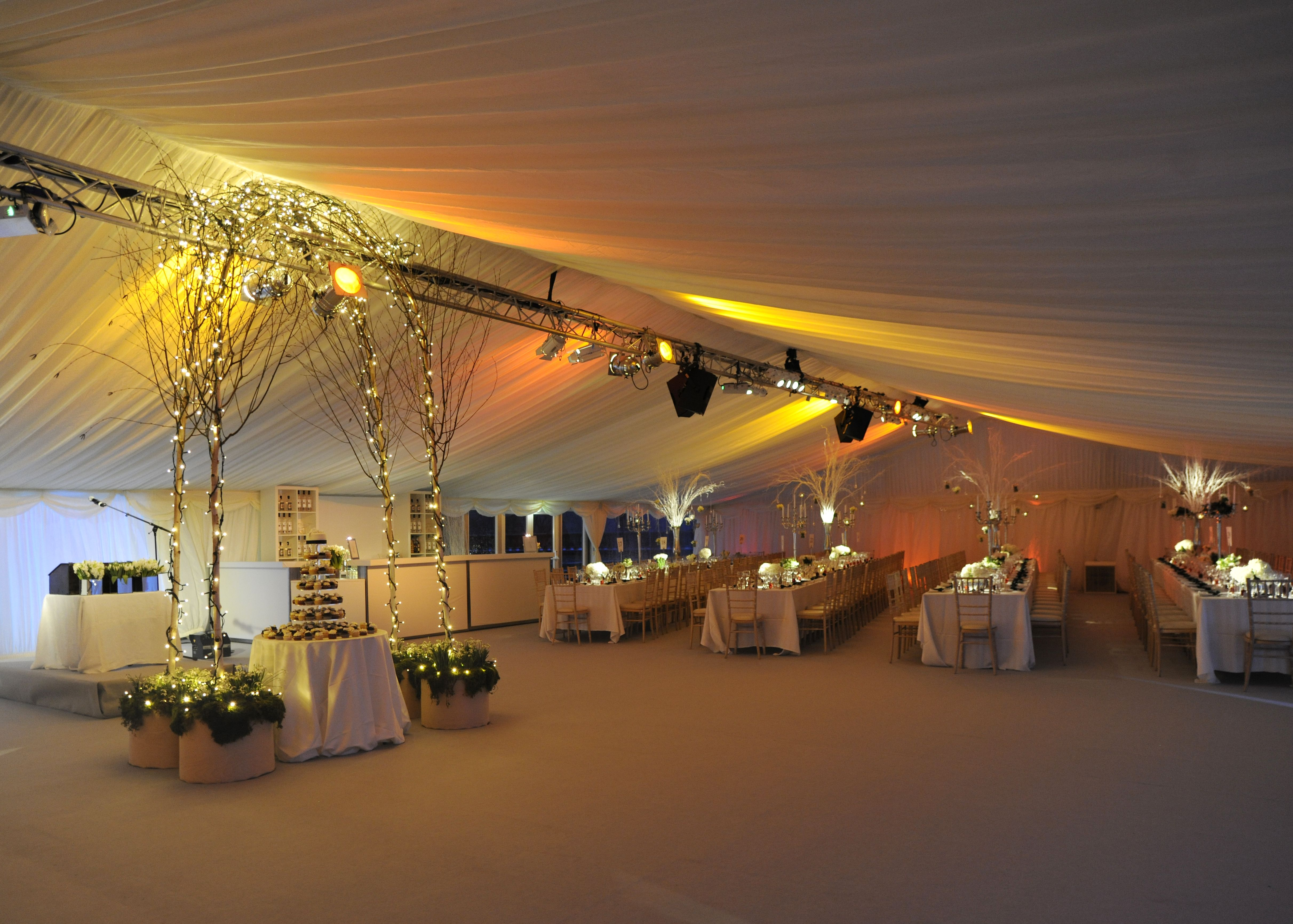 Neutral Carpet Linings And Linens In A Stunning Wedding Marquee Bestintentweddings Neutral Color Scheme Marquee Wedding Marquee