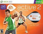 EA Sports Active 2 Personal Trainer (Xbox 360, 2010) w/ heart rate monitor NEW