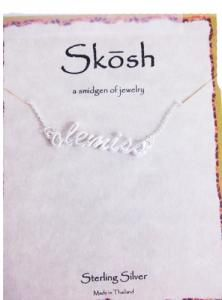 Skosh 'Ole Miss Script' Necklace - Campus Book Mart