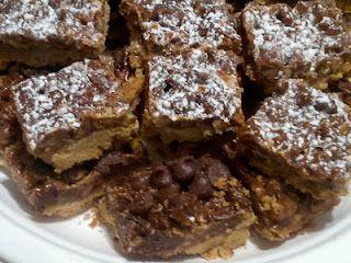My recent take on the Pecan Pie Bar recipe.