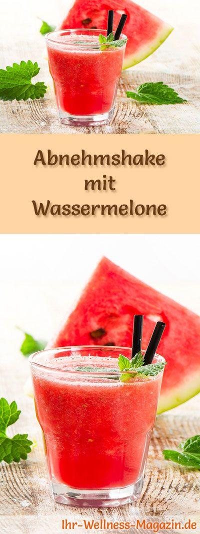Abnehmshake Mit Wassermelone Diat Rezept Zum Abnehmen Gesunde