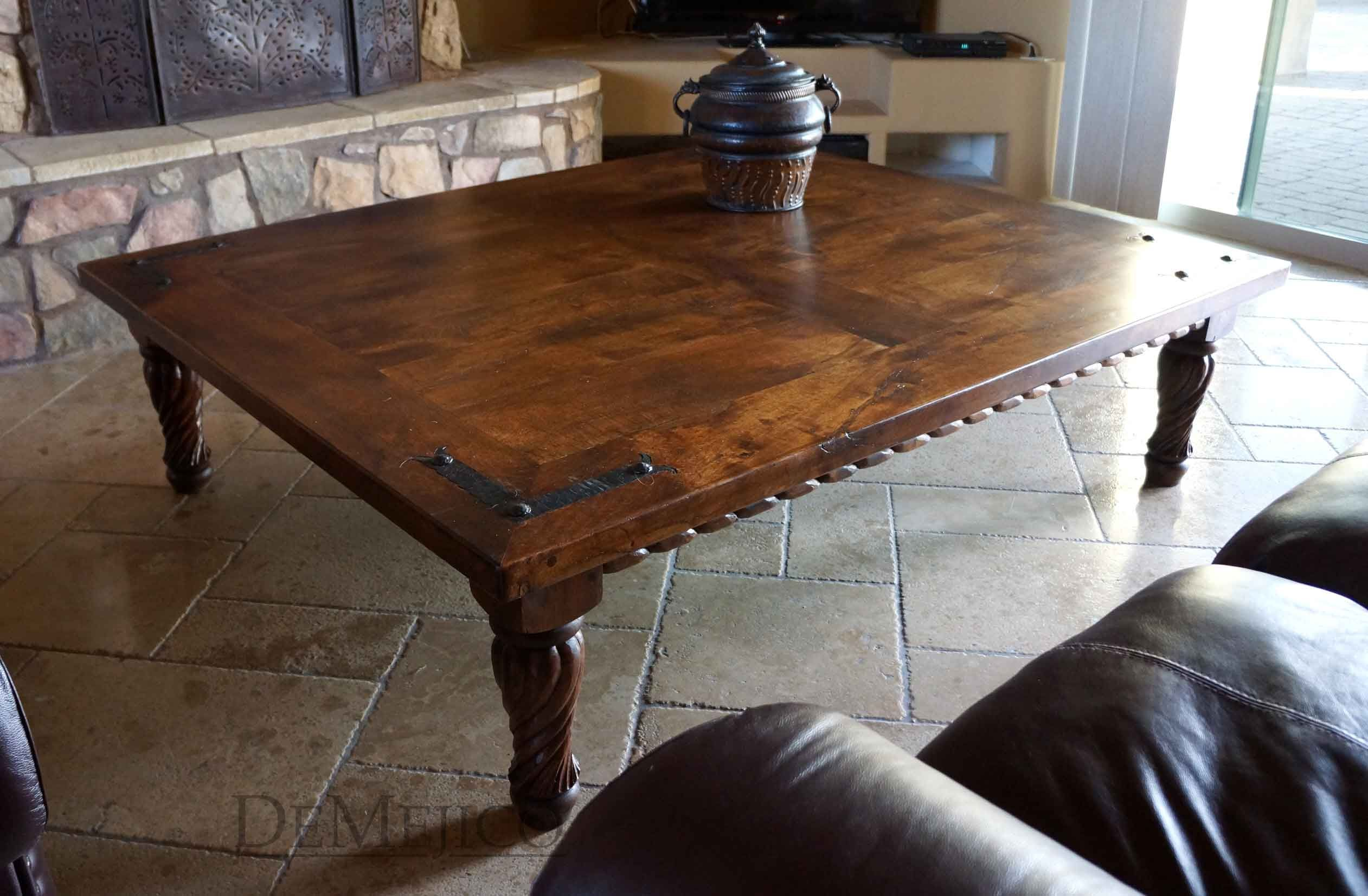 Bring An Authentic Spanish Style To Your Coffee Table With