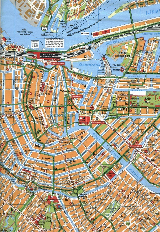 cruise terminal amsterdam map Amsterdam Holland Cruise Port Map Printable Amsterdam Map cruise terminal amsterdam map