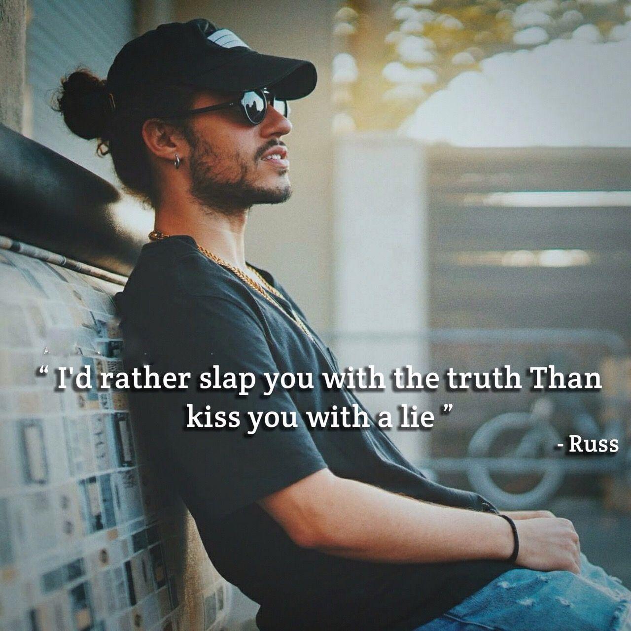 Rapper Quote: Russ Instagram: @allgood813   Rapper quotes ...