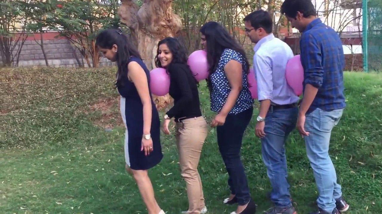 Team Building Activities Balloon Race Spiele für