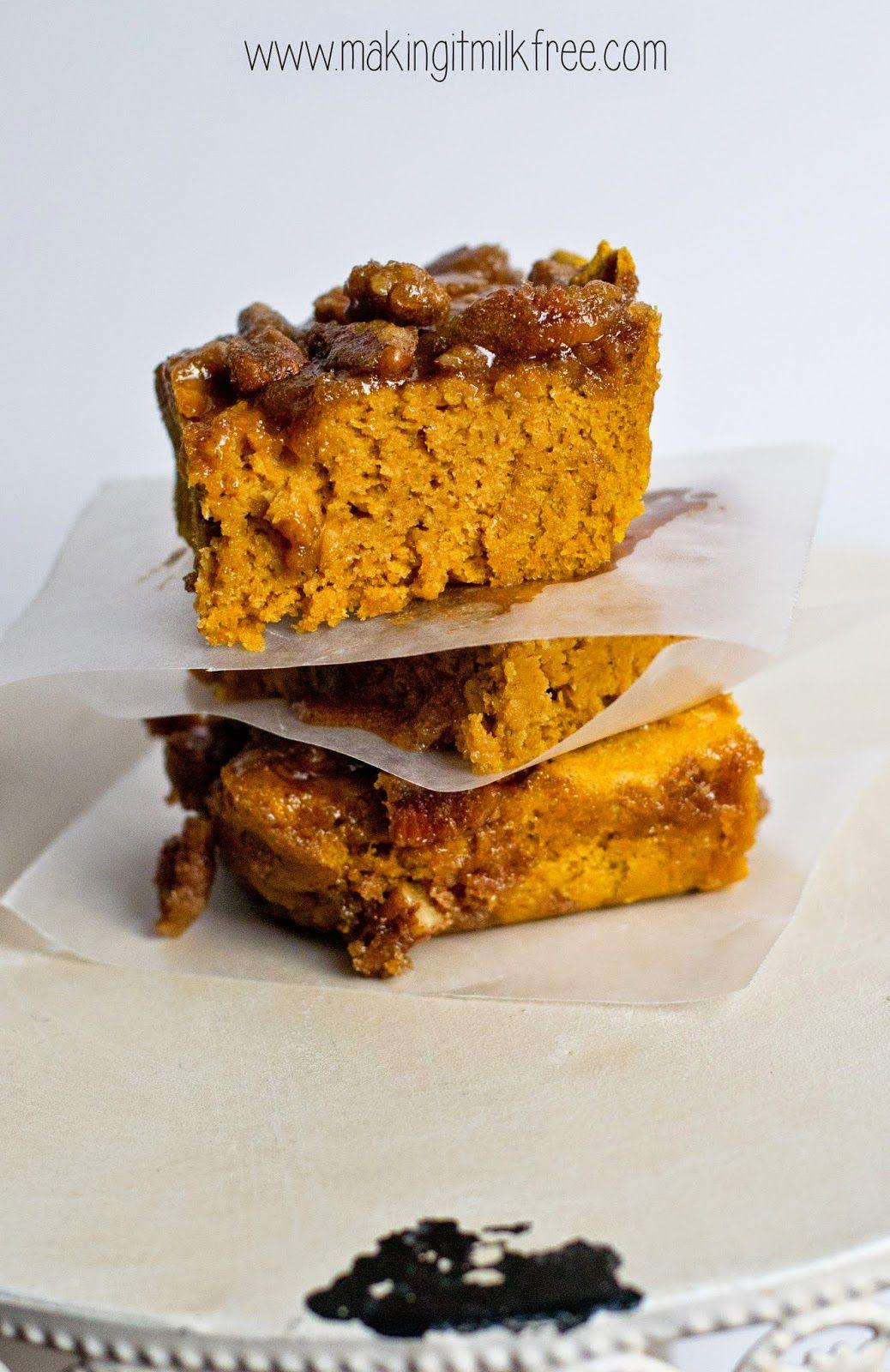 Pumpkin Pecan Coffee Cake {gluten free + vegan} Coffee