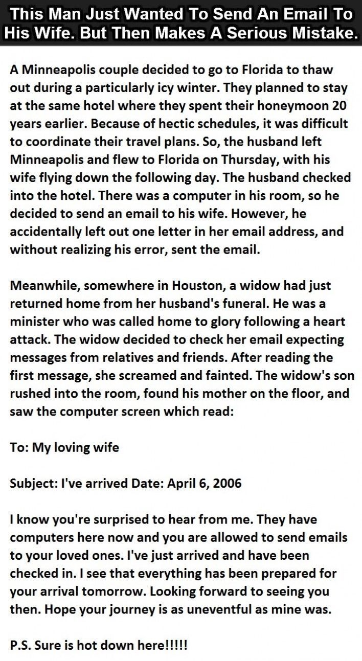 Witty dating emails