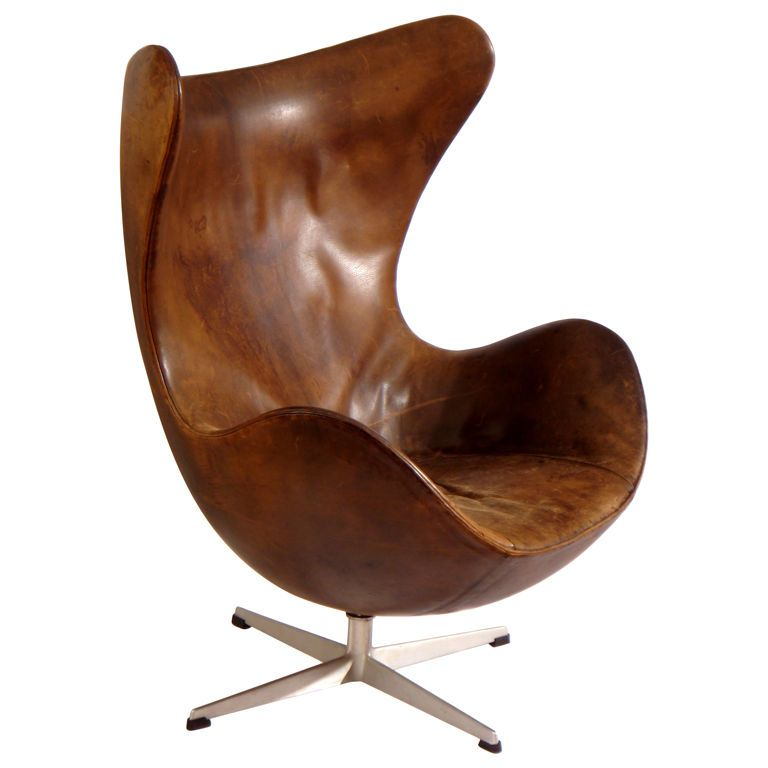 The Egg is a chair designed by Arne Jacobsen in 1958 for Radisson SAS hotel in Copenhagen. It is manufactured by Republic of Fritz Hansen. The Egg was designed in a typical Jacobsen style, using state-of-the-art material.