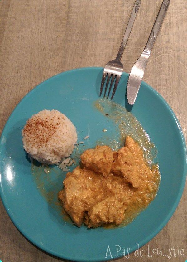{ Recette anti-toxo } Poulet coco au curry