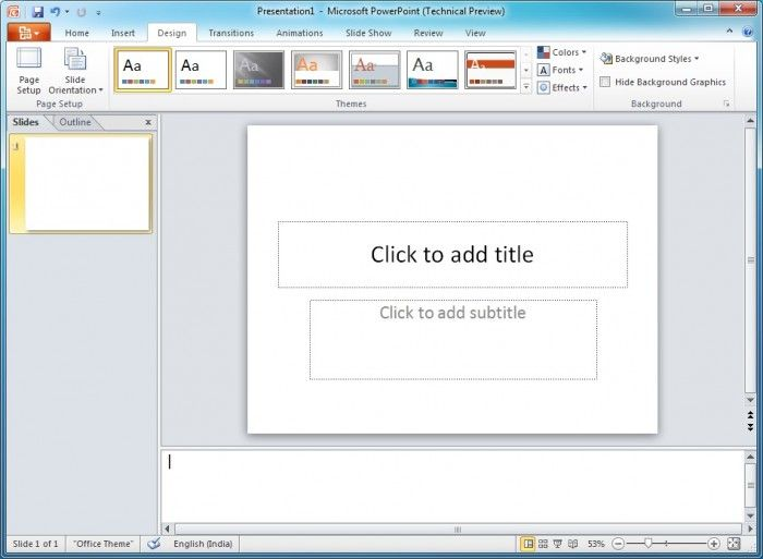 Microsoft Office PowerPoint 2010 Offline Installer Free Offline