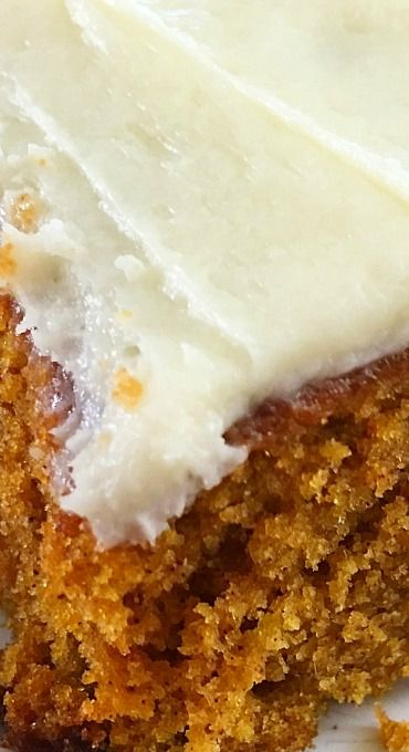 Better than Sex PUMPKIN Cake #pumpkindesserts