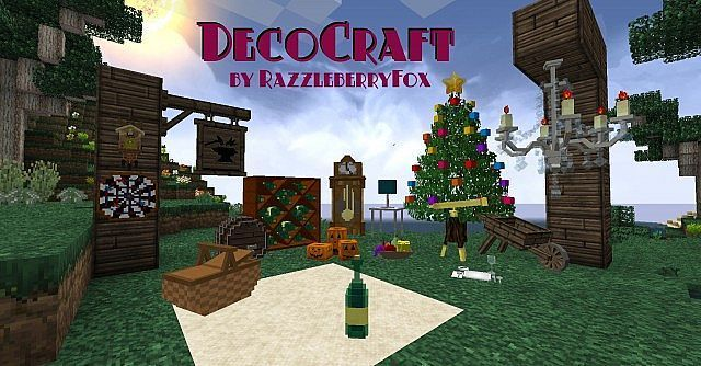Decocraft Mod For Minecraft 1 7 10 Looking At The Name Players Might Imagine What The Decocraft Mod Does In Minecraft Minecraft Mods Minecraft Minecraft 1
